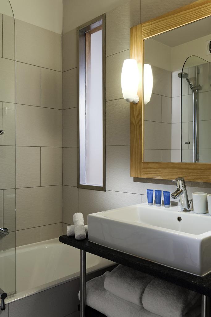 Chambre standard – Salle de bains
