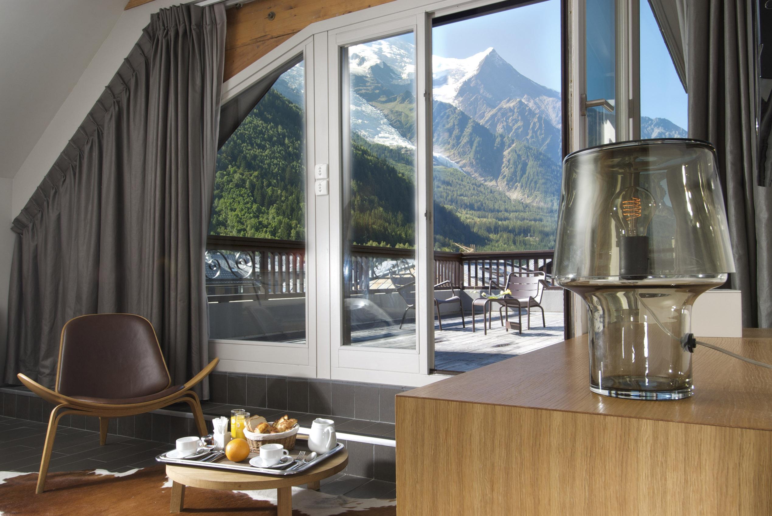Hôtel le Morgane. Chamonix Mont-Blanc. Haute Savoie. France.